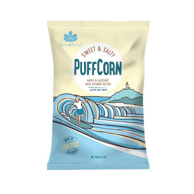 Brookfarm PuffCorn - Sweet & Salty (70g)