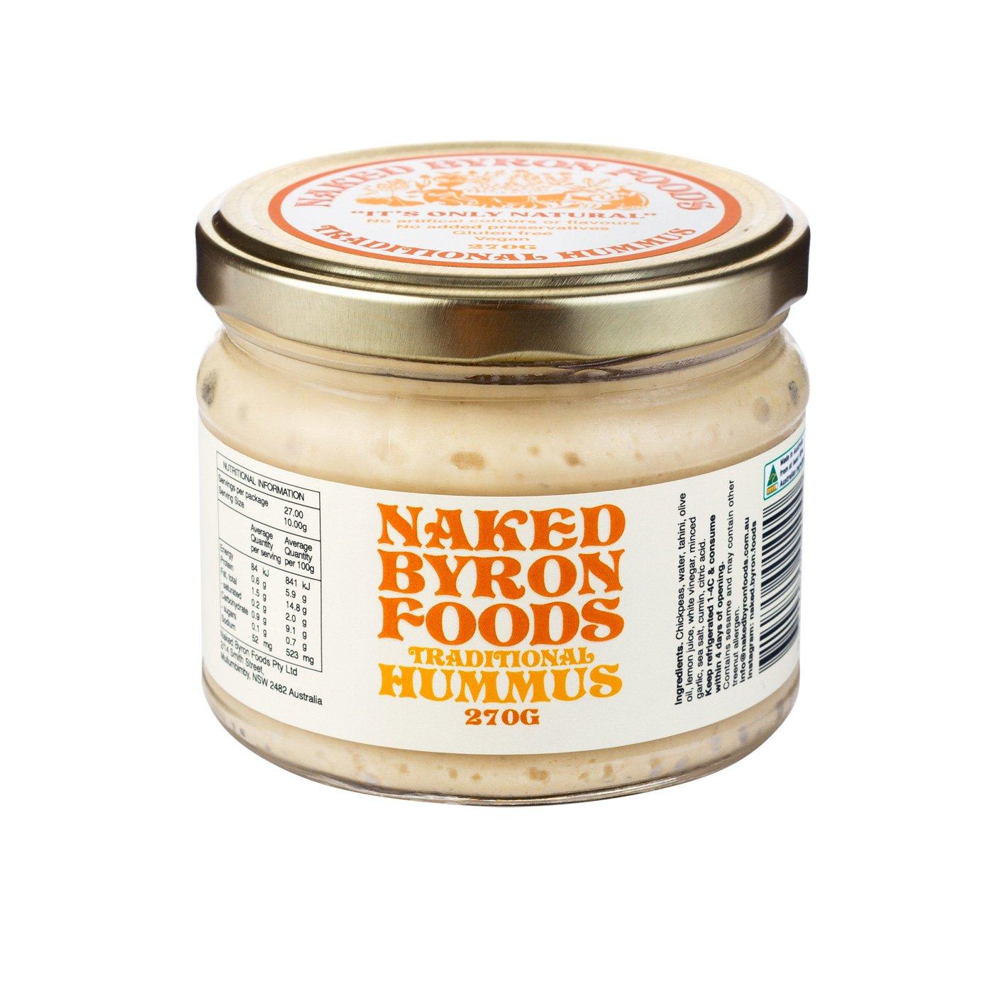 Naked Byron - *NEW* Zaatar Hummus 270g x 6 (Carton