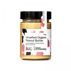 99th - Unsalted Natural Peanut Butter 325g x 6 (Carton)