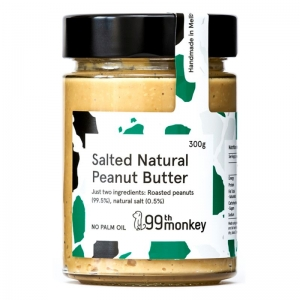 99th - Salted Natural Peanut Butter 325g x 6 (Carton)