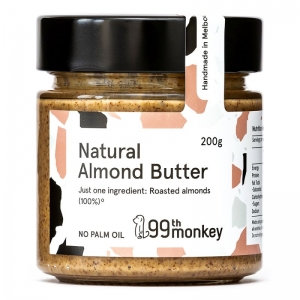 99th Monkey - Natural Almond Butter