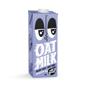 All Good - Barista Oat Milk 6 x 1ltr (Carton) (BarOM6)
