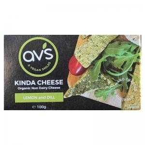 AVS Organic Tangy Lemon & Dill 100g
