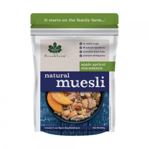 Brookfarm - Natural Macadamia Muesli with Apricots