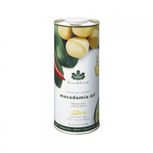 Brookfarm - Lime & Chilli Infused Macadamia Oil 1.25L