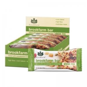 Brookfarm - G/Free Macadamia & Cranberry Multipack 6 x 140g (Carton)