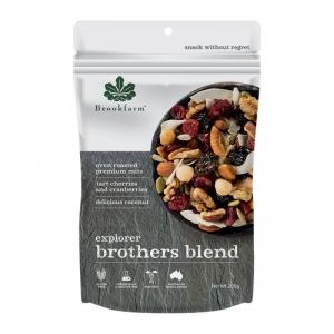Brookfarm - Brothers Blend Explorer Mix 200g x 8 (Carton)
