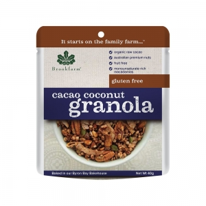 Brookfarm - G/F Granola Cacao Coconut 40g x 20