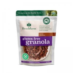 Brookfarm - Gluten Free Granola Cacao Coconut 800g x 6