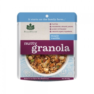 Brookfarm - Nutty Granola Maple Vanilla Sachet