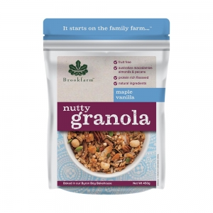 Brookfarm - Nutty Granola Maple Vanilla 450g