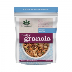 Brookfarm - Nutty Granola Maple Vanilla 1kg