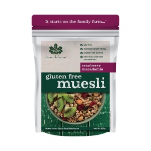 Brookfarm - Muesli with Cranberry GF