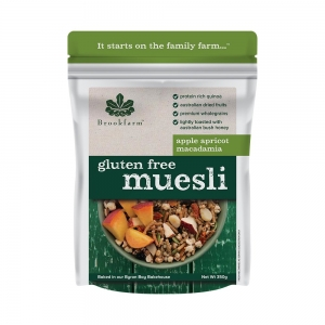 Brookfarm - Muesli with Apricot GF