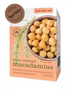 Brookfarm - Oven Roasted Macadamias with Pink Lake Salt