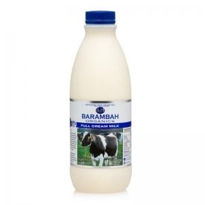 Barambah Organics - Milk Full Cream 1L (ACO 4002P)