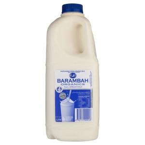 Barambah Organics - Milk Full Cream 2L (ACO 4002P)