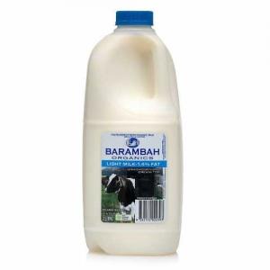 Barambah Organics - Milk Light 2L (ACO 4002P)