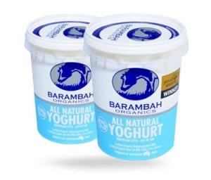 Barambah Organics - Yogurt All Natural 1kg (ACO 4002P)