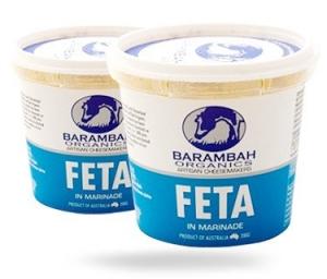 Barambah Organics - Cheese Feta in Marinade 200g (ACO 4002P)