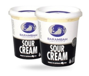 Barambah Organics - Sour Cream 200ml (ACO 4002P)