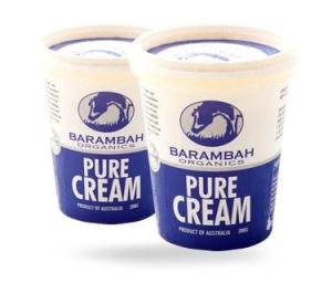 Barambah Organics - Pure Cream 200ml (ACO 4002P)