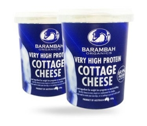 Barambah Organics - Cheese Cottage - Very High Protein - Low Fat 500g