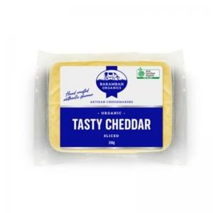 "Barambah Organics - Cheese Sliced Cheddar ""Clean and Green Hectares"" 210g"