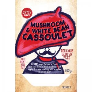 Spice Owl - Mushroom & White Bean Cassoulet 500g x 6 (Carton)