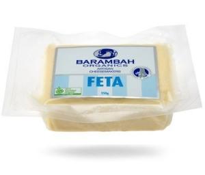 Barambah Organics - Cheese Feta 250g x 12 (vacuum pack) (ACO 4002P) (Carton)