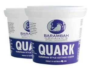 Barambah Organics - Cheese Quark 365g Tub (ACO 4002P)