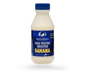Barambah Organics - Smoothie Banana High Protein 375ml