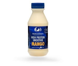 Barambah Organics - Smoothie Mango High Protein 375ml