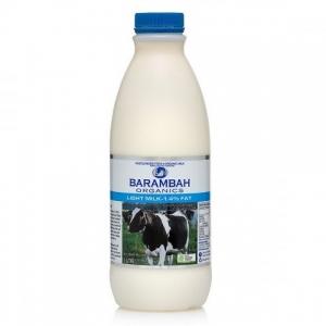 Barambah Organics - Milk Light 1L (ACO 4002P) (Pink Lid)