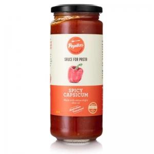 Pepitas - Spicy Capsicum Pasta Sauce 450g x 6 (Carton)