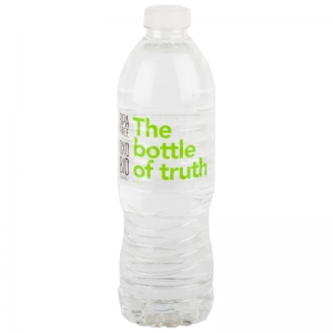 Water- The Bottle Of Truth 600ml x 12 (BPA FREE - Bio Bottle) (Ctn)