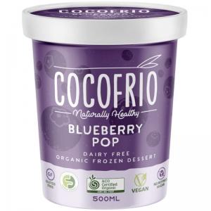 Cocofrio - Organic Blueberry Pop