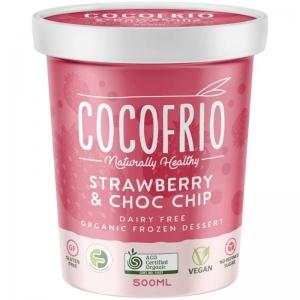 Cocofrio - Organic Strawberry Choc Chip