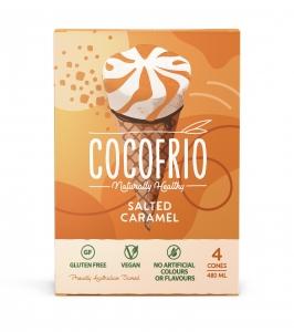 Cocofrio Cones - Salted Caramel