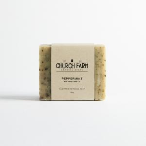 Church Farm - Peppermint with Hemp Oil Soap