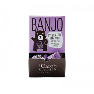 Carob - BEAR Coconut Banjo (Purple) 15g x 50