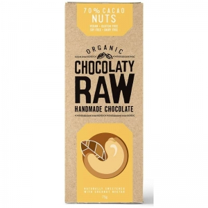 Chocolaty Raw - Nut 75g x 12 (Carton)