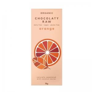 Chocolaty Raw - Orange 75g x 12 (Carton)