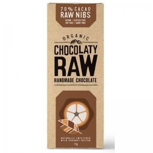 Chocolaty Raw - Raw Nibs 75g x 12 (Carton)