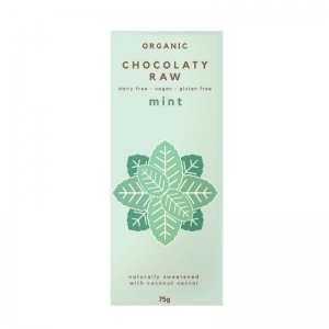 Chocolaty Raw - Mint 75g x 12 (Carton)