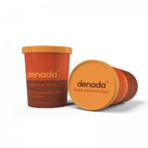 Denada - CARAMEL CHOC FLAKE Ice Cream 475ML x 6 (FROZEN) (Carton)