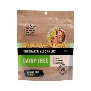 Dairy Free  - Cheddar Shreds 200g x 8 (Carton)
