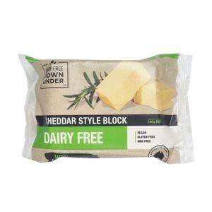 Dairy Free  - Cheddar Block 200g x 10 (Carton)