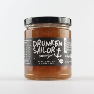 Drunken Sailor Canning Co - Pear, Vanilla & Whisky Jam 290g *NEW*
