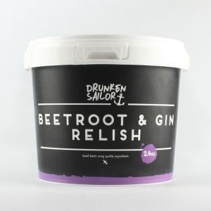 Drunken Sailor Canning Co - BULK Beetroot & Gin Relish 2.4kg *NEW*